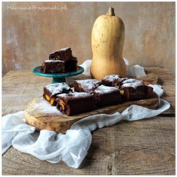 Ciasto czekoladowe z dynią i chilli