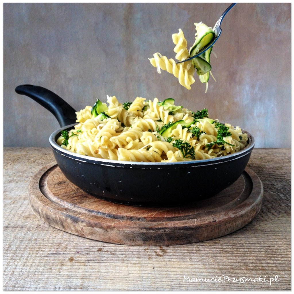 Makaron aglio olio e peperoncino