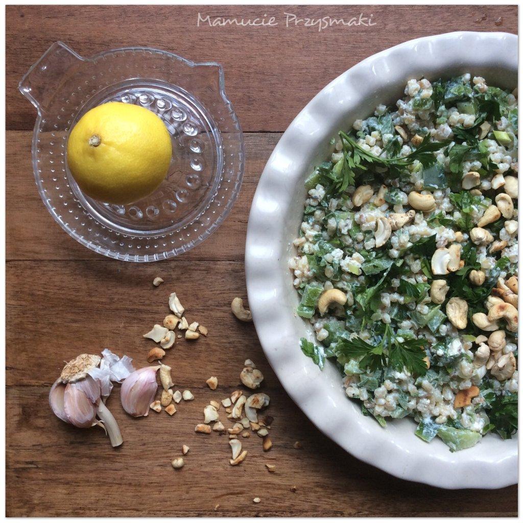 Pyszna zdrowa salatka