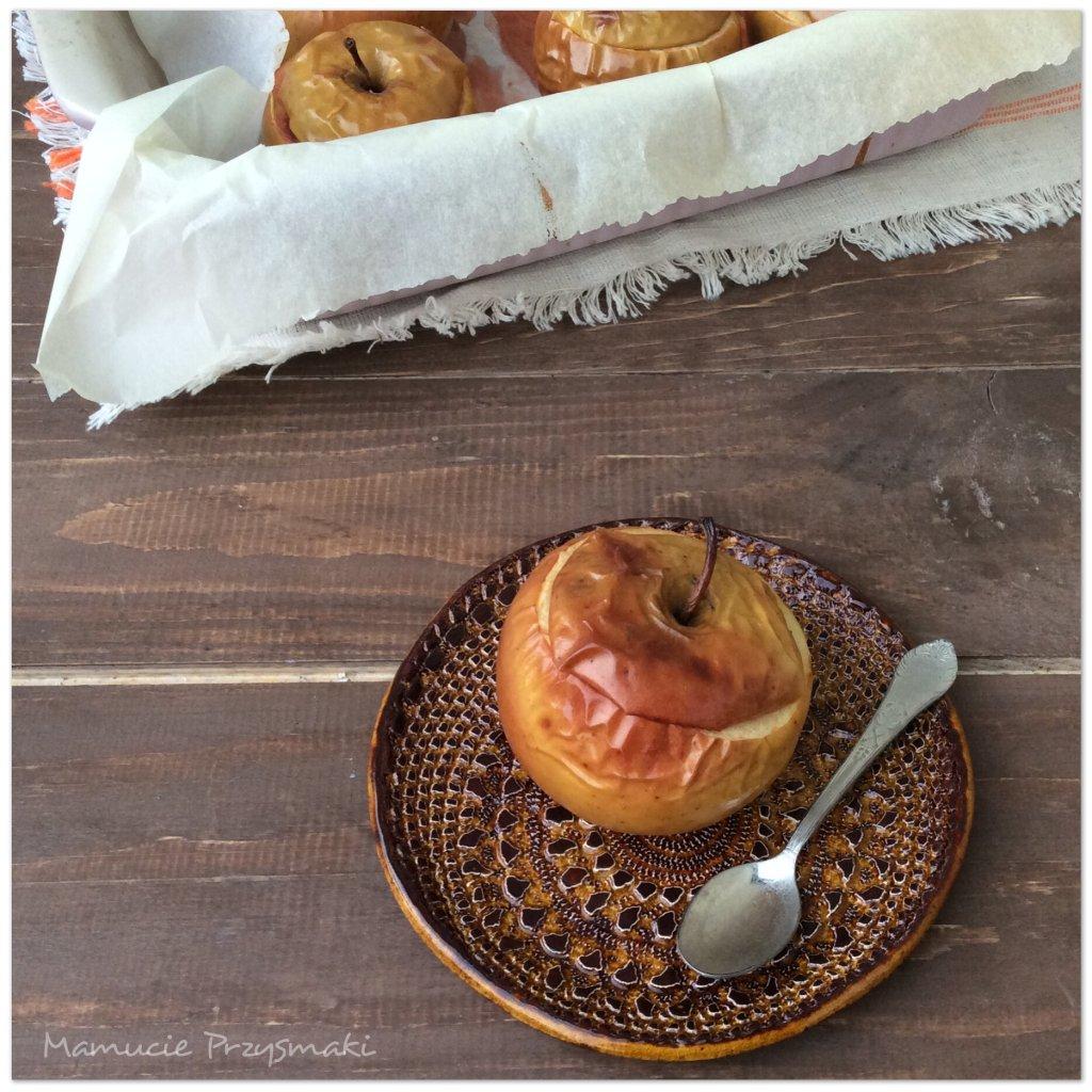 Pieczone jabłko