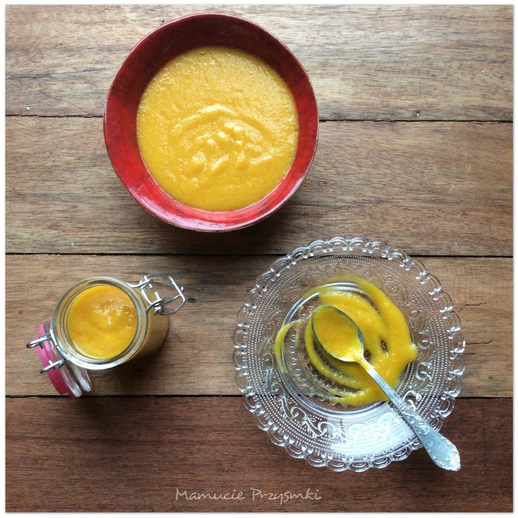 Sos pomarańczowo-szafranowy