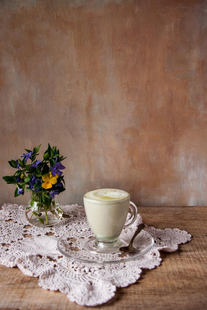 Pokrzywowe latte