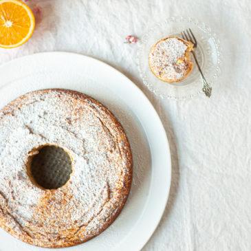 Ciasto pomarańczowe Elli